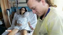 """Deux ans après les attentats, Karen est toujours à l'hôpital: """"Je n'ai plus envie de souffrir"""""""