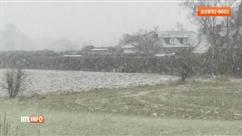 Il neige encore dans certaines régions de Belgique