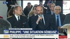 Prise d'otages dans le sud de la France: le moment où Edouard Philippe, le Premier ministre, apprend la nouvelle
