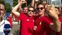 A Sotchi, les supporters belges sont CHAUDS!