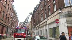 Un incendie s'est déclaré dans une habitation située dans le centre-ville de Liège