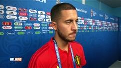 """Eden Hazard: """"On pouvait faire mieux"""""""