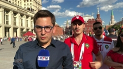 """Supporter marocain: """"La déception est grande mais on a très bien joué contre le Portugal"""""""