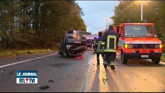 accident mortel et embouteillages ce matin sur l autoroute e19. Black Bedroom Furniture Sets. Home Design Ideas