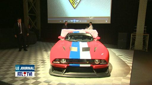 une nouvelle voiture de sport 100% belge a été présentée.