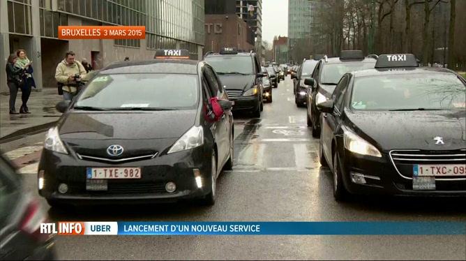 Uber Lance Un Service De Voiture Avec Chauffeur Professionnel A
