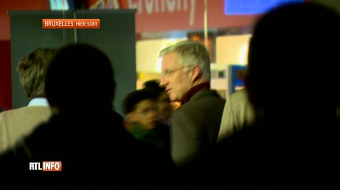 Le roi Philippe était hier à Kinépolis pour voir le film