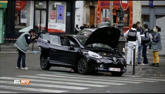 une nouvelle voiture belge peut tre li e aux attentats. Black Bedroom Furniture Sets. Home Design Ideas