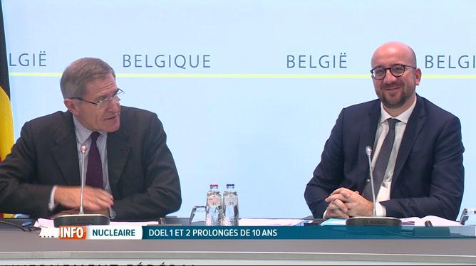Les réacteurs nucléaires de Doel 1 et Doel 2 fonctionneront jusqu'en 2025