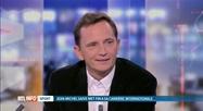 Invité en plateau, Jean-Michel Saive commente sa retraite sportive