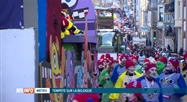 Eupen: le cortège du carnaval a été maintenu