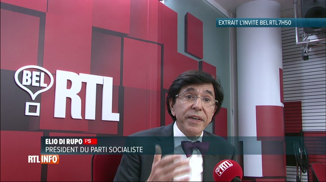 Elio Di Rupo était invité sur Bel RTL ce matin