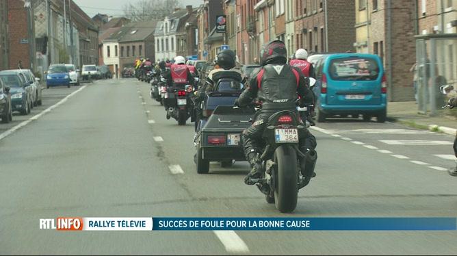 Le Rallye du Télévie a rassemblé des milliers de personnes au Plan incliné  de Ronquières d0335ff5ed5