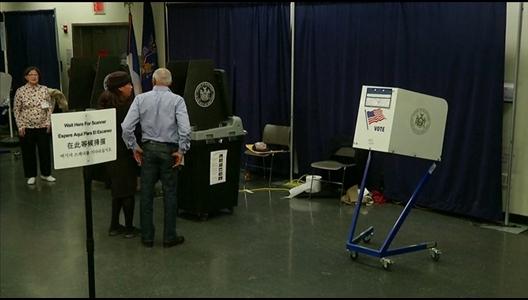 primaires new york ouverture des bureaux de vote. Black Bedroom Furniture Sets. Home Design Ideas
