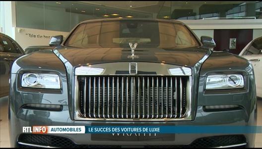 boum des ventes de voitures de luxe en belgique. Black Bedroom Furniture Sets. Home Design Ideas