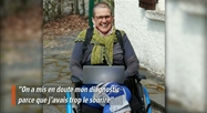 Irène souffre du syndrome d'Ehlers-Danlos, une maladie peu connue mais très handicapante