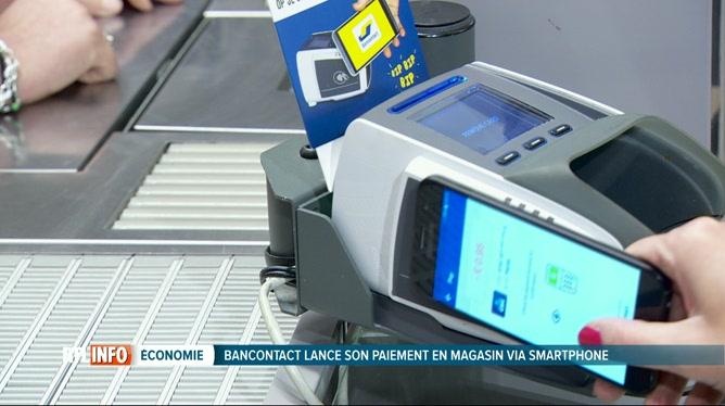 Bancontact Se Lance Dans Le Paiement Sans Contact Via Smartphone