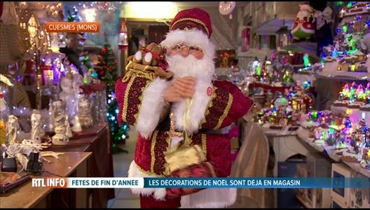Les d corations de no l sont d j install es dans les magasins - Magasin de decoration de noel en belgique ...