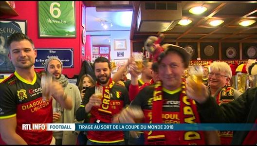 Mondial 2018 les diaboulets li geois ont suivi le tirage la tv - Tirage au sort coupe uefa ...