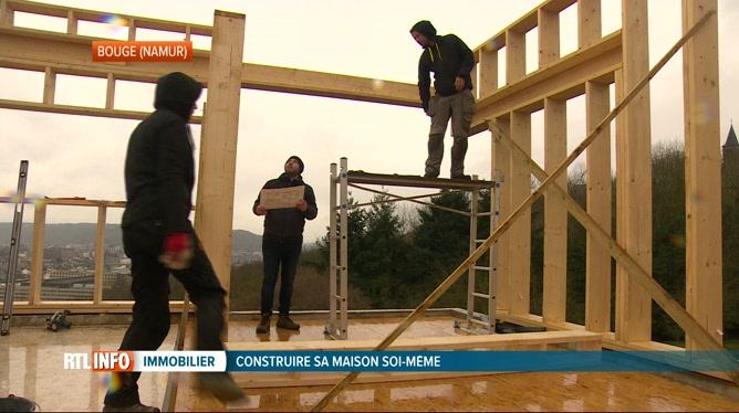 Construire Sa Maison Soi-Même  De Plus En Plus Tendance En Belgique