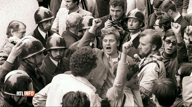 Mai 68 a-t-il eu des impacts en Belgique?