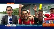 Belgique-Japon (3-2): Nathanaël Pauly est en direct de Rostov