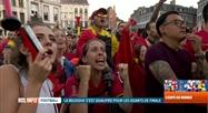 Belgique-Japon (3-2), ou quand Nacer Chadli libère tout un pays