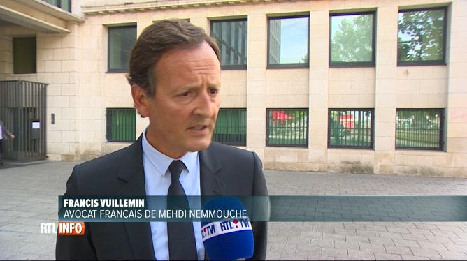 Mehdi Nemmouche entendu par un juge parisien à Bruxelles