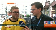Mondial 2018: rencontre avec des supporters belges arrivés à Kazan
