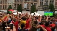La Belgique ivre de bonheur après la victoire contre le Brésil