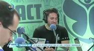 Retrouvez l'interview de Jonas Blue depuis le studio Radio Contact à Tomorrowland