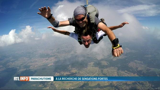 saut en parachute brabant wallon