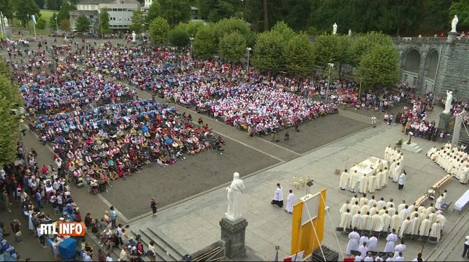 15 août: la messe de l'Assomption célébrée à Lourdes