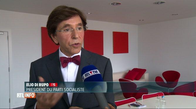 9ce0b869fb8f Elio Di Rupo favorable à une coalition avec Ecolo et DéFI. «