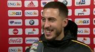 Diables Rouges : réaction d'Eden Hazard après Belgique - Islande