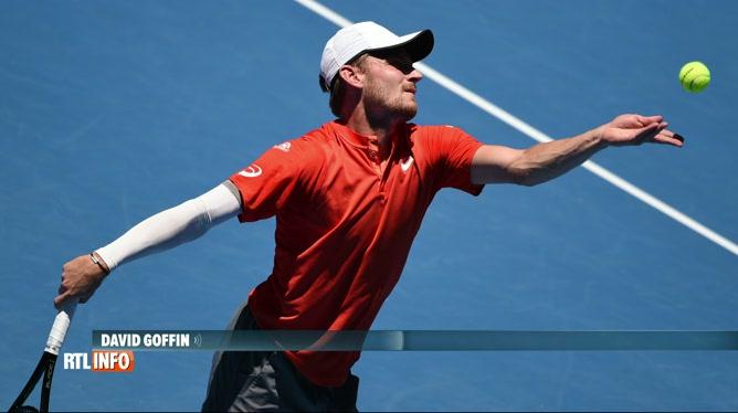 Tennis: David Goffin forfait pour la prochaine Coupe Davis