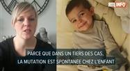 Télio, 3 ans, est atteint d'une maladie génétique, sa mère se bat pour lui