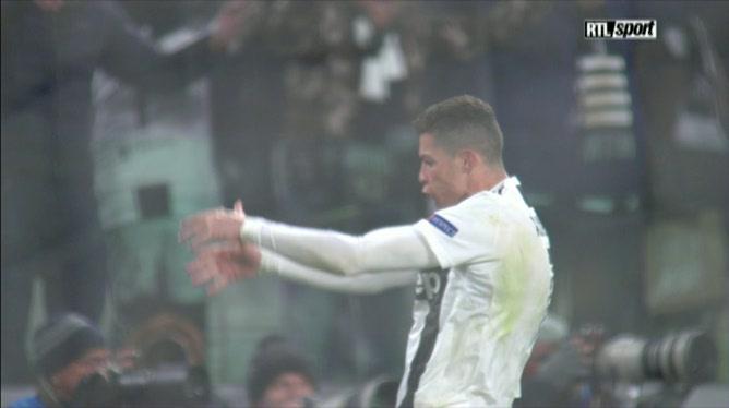 Cristiano Ronaldo répond à la célébration de Diego Simeone