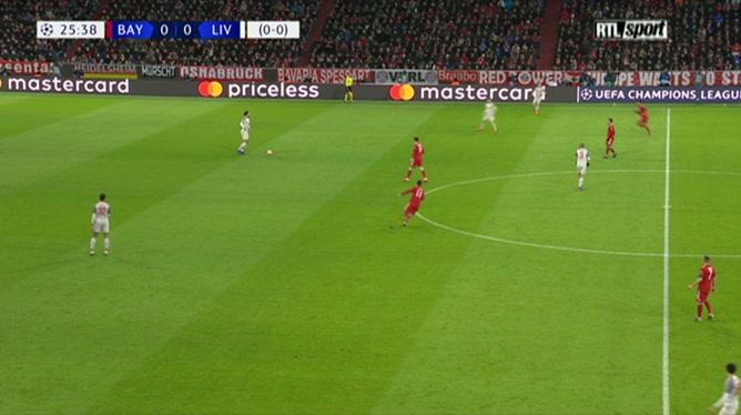 Sadio Mané ouvre le score pour Liverpool