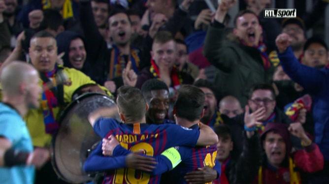 FC Barcelone 5 - 1 Olympique Lyon
