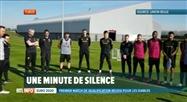 Minute de silence des Diables Rouges pour les victimes des attentats