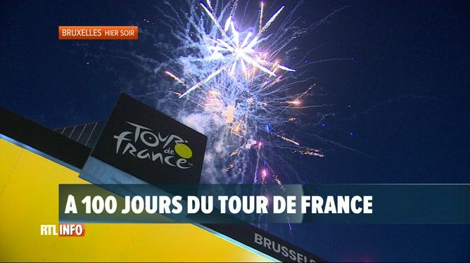 Tour de France 2019: un feu d'artifice tiré à la place de Brouckère
