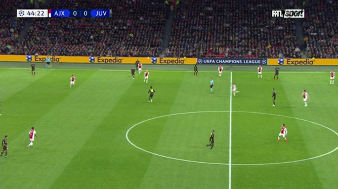 Cristiano Ronaldo ouvre le score pour la Juventus Turin