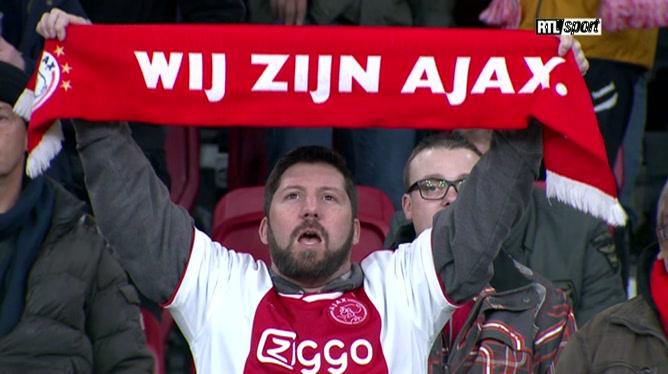 David Neres égalise pour l'Ajax Amsterdam