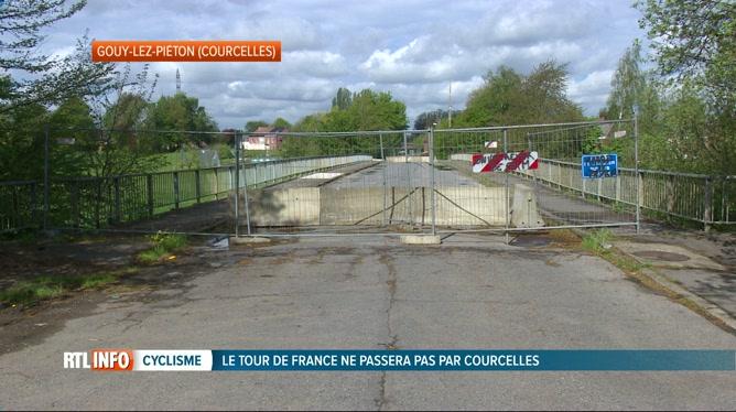 Le Tour de France ne passera finalement pas par Courcelles