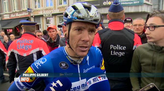 Cyclisme: victoire de Jakob Fuglsang à Liège-Bastogne-Liège