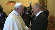 Vladimir Poutine a rencontré le pape François au Vatican