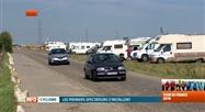 Une prairie de Thiméon transformée en camping pour le Tour de France