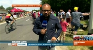 Tour de France: ambiance au plan incliné de Ronquières