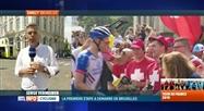 Tour de France: gros succès de foule pour le départ de la 1ère étape